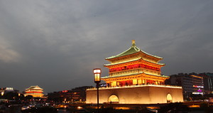 Bell_Tower_and_Drum_Tower,_Xi'an,_China_-_panoramio